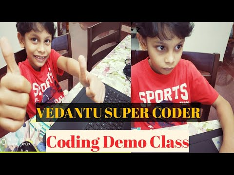 Online Coding For Kids/Online Coding Demo Class with Vedantu Super Coder/Coding for beginners/