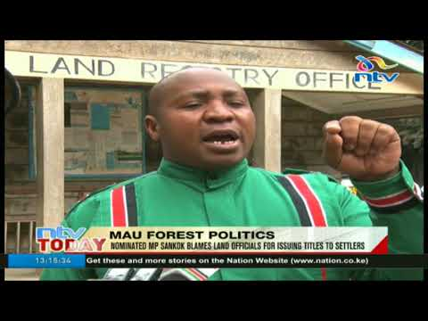 Nominated MP Sankok blames land officials for issuing titles to settlers