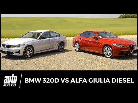 Alfa Romeo Giulia vs BMW Série 3 : passé recomposé
