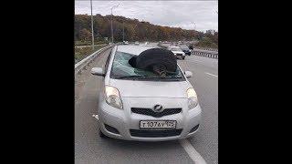 УЖАС!!! ДТП Владивосток ПЬЯНАЯ ЗА РУЛЕМ!!!