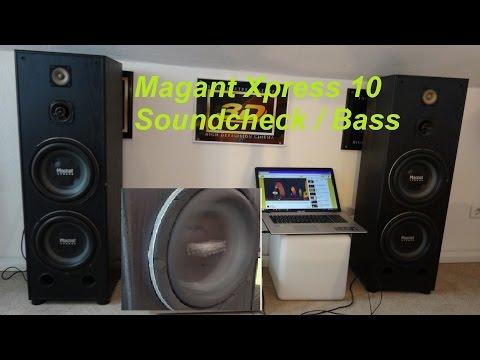 Magnat Xpress 10 als Standlautsprecher  im Soundcheck