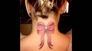 Bow Tattoo Design