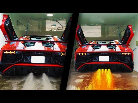 CARS Spitting WATER And FLAMES! UNBELIEVABLE! Part 3 #BEST-OF