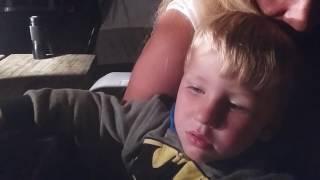 Very Cute Kid Falling Alseep to John Hiatt