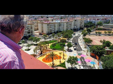 El Ayuntamiento dedica una glorieta al empresario José Moya en el Distrito Triana