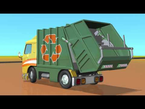 TuTiTu - Masina de gunoi