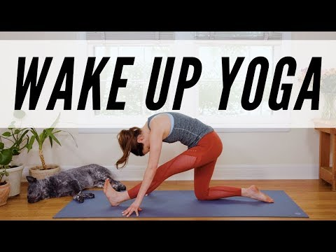 Download Wake Up Yoga  -  11 Minute Morning Yoga Practice -  Yoga With Adriene Mp4 HD Video and MP3