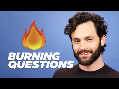 Penn Badgley Answers Your Burning Questions (видео)