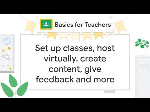 Google Classroom 101 - YouTube