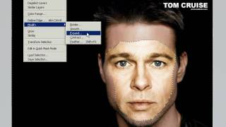Photoshop CS5 Tutorial. Simple Face Replacement ( Face Swap ) in 3 minutes Using Auto Blend Layer