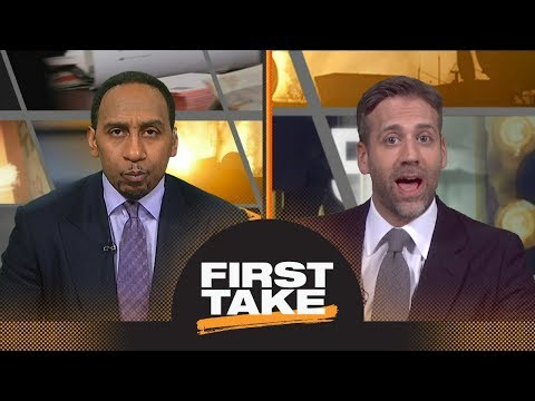Max calls out Stephen A. for 'making excuses' for LeBron James | First Take | ESPN