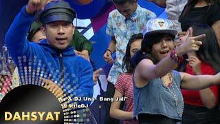 Denny Cagur & DJ Una ngeDJ asik lagu 'Bang Jali' [Dahsyat] [24 Nov 2015]
