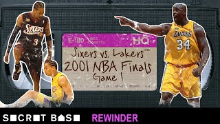 Allen Iverson stepping over Tyronn Lue in the NBA Finals requires a deep rewind | 2001 76ers-Lakers thumbnail