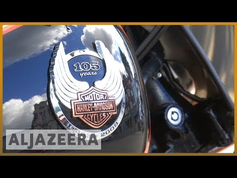 🇺🇸 Trump slams Harley Davidson | Al Jazeera English