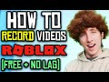 How To Record ROBLOX Videos.. (FREE & NO LAG) | OBS Studio | Fifine T669 Streaming Mic Giveaway