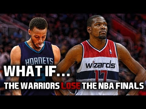 What if the Golden State Warriors LOSE in the NBA Finals?