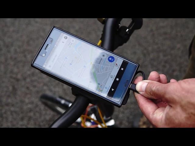 Видео Держатель для смартфона SKS Compit+ черный