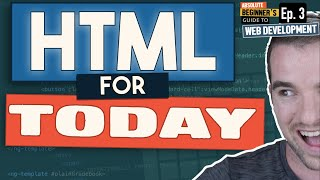 How is HTML used today?     Web Development Simply Explained Ep. 3
