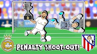 🏆PENALTIES! Real Madrid win Super Copa 2020!🏆 (Real vs Atletico Madrid Penalty Shoot-Out)