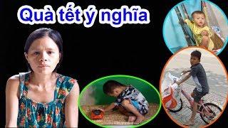 Thông báo mới nhất và trao tiền hỗ trợ cho hoàn cảnh mẹ trẻ dẫn 3 con đi nhặt ve chai - Guufood