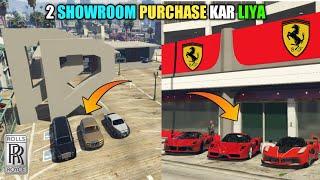 GTA 5 : MY MILLION DOLLARS FARRARI & ROLLS ROYCE SHOWROOM || BB GAMING