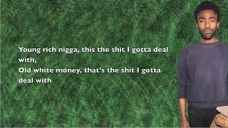 Steve G. Lover - No Hookahs (ft. Childish Gambino) - Lyrics