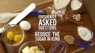Icing FAQs Answered: Can I Reduce the Sugar in Icing?