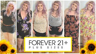 Forever 21 Plus Size Clothing Haul 🌻Summer 2020
