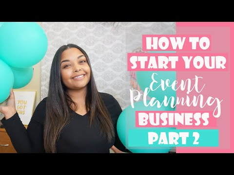 , title : 'How to START + RUN your Event Planning Business!!