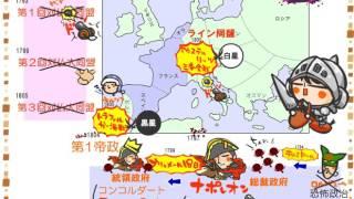 世界史3章8話「ナポレオン」byWEB玉塾