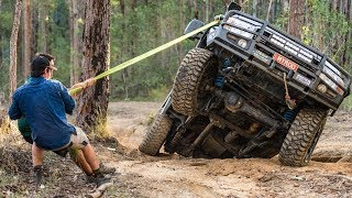 Australia's Toughest 4WD Tracks! Broken CVs, tailshafts and panel damage in the Glasshouse Mountains