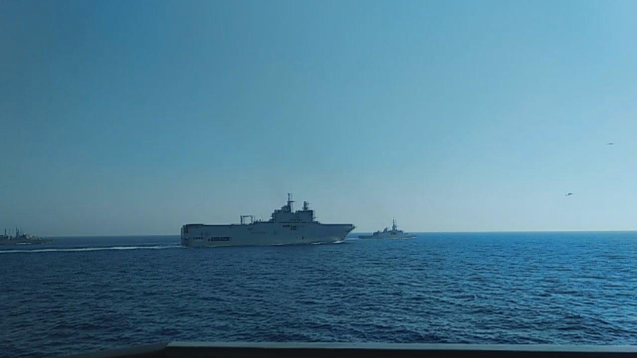 Κοινή ναυτική άσκηση  Ελλάδας- Γαλλίας