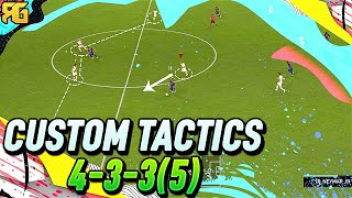 FIFA 20   Why the 4-3-3(5) is an INCREDIBLE FORMATION! - FIFA 20 ULTIMATE TEAM