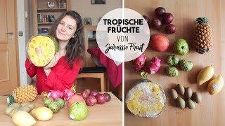 TROPISCHE FRÜCHTE VON JURASSIC FRUIT   Jackfrucht, Sapotille und viel mehr! UNBOXING