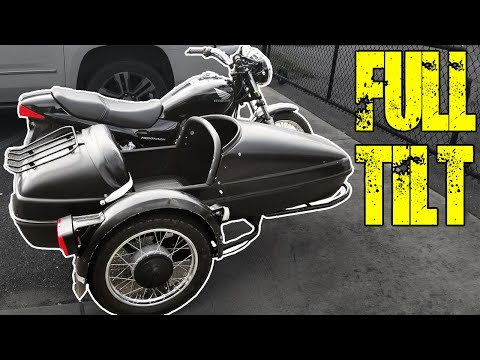 Learning To Ride A Sidecar Motorcycle