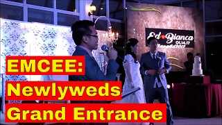 Emcee: Wedding Grand Entrance: Ed and Bianca Reyes 01.14.2017