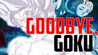 Goku Leaves With The Grand Priest In The Final Episode Of Dragon Ball Super