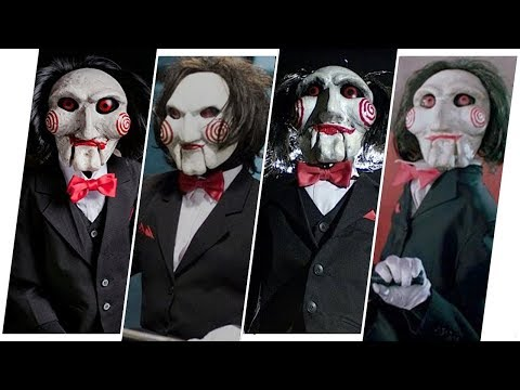 Billy the Puppet/Jigsaw/John Kramer Evolution in Movies (Saw)