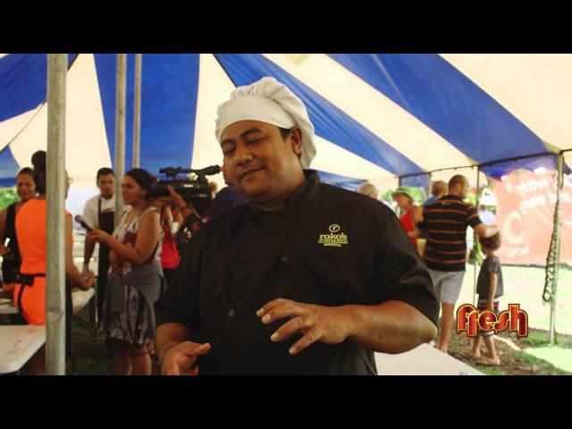 Oka Festival in Samoa (Raw Fish)