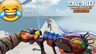 FASTEST ZOMBIES I'VE EVER SEEN! (Black Ops 3 Custom Octogonal Zombies Map)