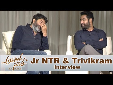 jr-ntr-and-trivikram-srinivas-special-interview