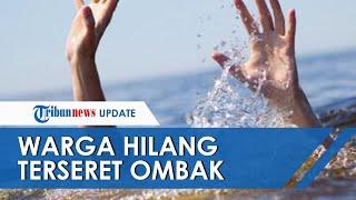 Asyik Berswafoto di Pantai Jetis Cilacap, Warga Banyumas Hilang Terseret Ombak