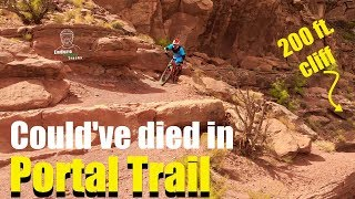 "Mag 7 (""The Magnificent 7"") is one of the most technical and exposed trails in Moab UT. Truly an amazing experience!"