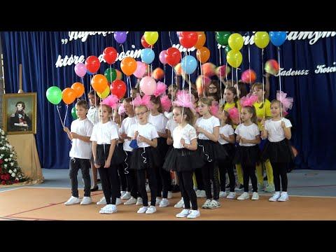 Uroczyste otwarcia sali gimnastycznej z zapleczem dydaktycznym. Goszczyce, 8 października 2020