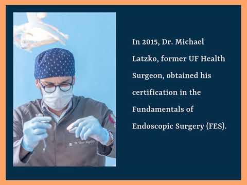 UF Health Surgeon Michael Latzko Educator And Trainer ... - YouTube