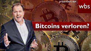 Bitcoin hat das Passwort 200 Millionen verloren