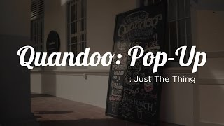 Just The Thing: Quandoo Popup
