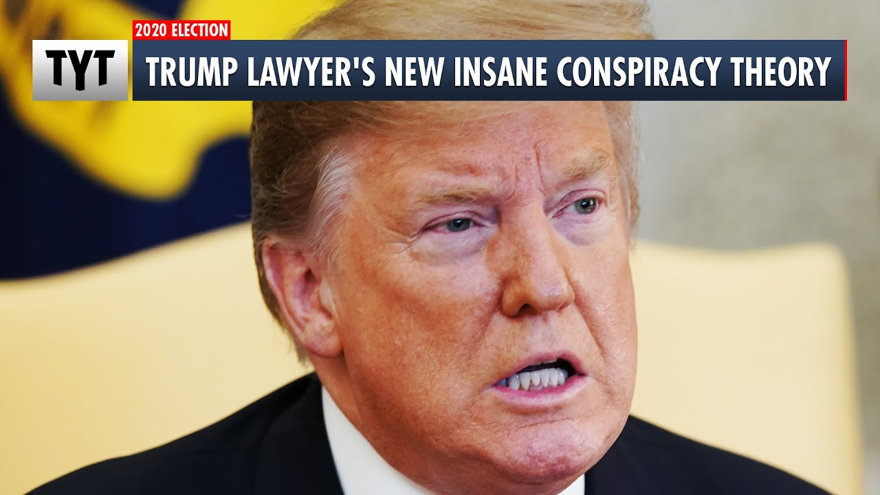 Trump Lawyer's New Insane Conspiracy Theory thumbnail