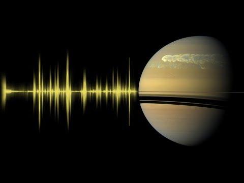 What did NASA's Cassini hear around Saturn?