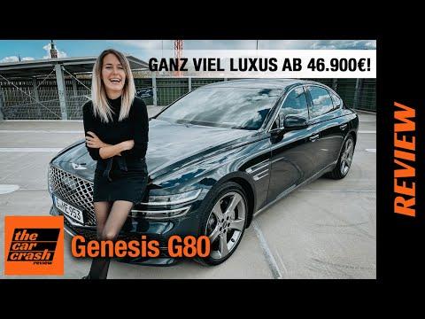 Genesis G80 im Test (2021) So viel Luxus gibt es ab 46.900€! 🚢 Fahrbericht   Review   2.5 T AWD